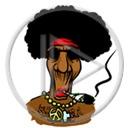 trawka maryśka zioło black trawa palenie skręt afro marihuana ganja Gania hipis śmieszne gandzia ziele