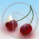owoce wisienki wiśnie wisienka wiśnia bita śmietana