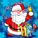 święta Boże Narodzenie Wigilia najlepszego święty mikołaj