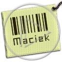 kod Maciek imiona kod kreskowy kody kody kreskowe