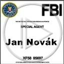 fbi agent agent specjalny Jan Kowalski legitymacja agenci