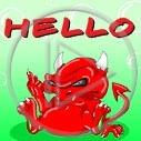 diabeł hello diabełek diabełki diabły