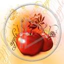 jabłko owoce Apple wzór owoc wzory jabłka motyw motywy