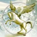 zwierzęta koń jednorożec pegaz konie konik Fantasy koniki zwierze