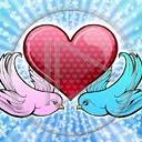 serce miłość serduszka para miłosne gołębie serduszko serca gołąbki