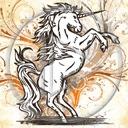 zwierzęta koń wzorek jednorożec wzór konie konik wzorki wzory ogier koniki zwierze