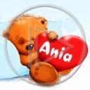 imię serce miłość miś Ania serduszka misie miłosne misiaczek imiona serduszko serca miśki misiaczki