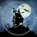 noc księżyc krzyż horror cmentarz Fantasy krzyże straszne cmentarze
