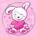 serce miłość serduszka zając zajączek miłosne serduszko serca zajączki zające