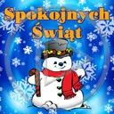 święta zima śnieg bałwan Boże Narodzenie życzenia bałwanek bałwany bałwanki świąteczne spokojnych świąt zimowe
