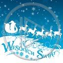 święta zima Boże Narodzenie życzenia sanie renifery wesołych świąt świąteczne życzenia świąteczne zimowe