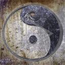 znak symbol wzór wzory znaki równowaga symbole znak chiński ornament znaki chińskie ying yang