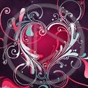 serce miłość serduszka walentynki miłosne walentynka serduszko serca
