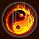 znak symbol wzór wzory znaki równowaga symbole ying yang