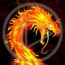 ogień smok dragon płomień smoki