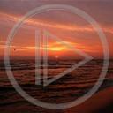 krajobraz słońce wschód morze Polska świat krajobrazy widoki