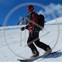 góry sport zima śnieg snowboard winter