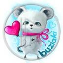 serce miłość serduszka myszka buziaki myszki serduszko serca gryzoń