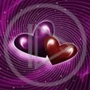 serce miłość love para serduszko