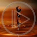 kropla różne krople woda abstrakcja