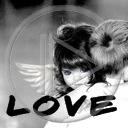 miłość para napis dziewczyna przytul zakochani miłosne tekst chłopiec