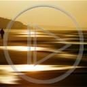 morze plaża widok zachód słońca krajobrazy widoki plener