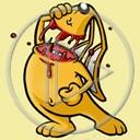 królik horror maskotka śmieszny straszne
