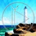 krajobraz morze latarnia widok widoki brzeg latarnia morska