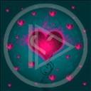 serce miłość love szkło kochać kolor czerwony kochanie serca kolory zielony różowy color świecący