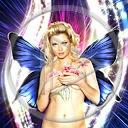 motyl kobieta postacie ciało motyle postać dziewczyna kobiety dziewczyny osoby osoba blondynki nagość