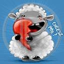 serce miłość owca owieczka napis miłosne serca owieczki chcesz pół?