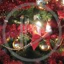 drzewo święta Boże Narodzenie bombki drzewko lampki z okazji... choinka lampki chinkowe