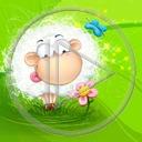 trawka zwierzęta owca baran wielkanoc owieczka wiosna owce owieczki zwierze barany