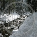 krajobraz zima rzeka przyroda natura widoki potok