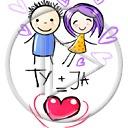 serce miłość serduszka para ty i ja zakochani miłosne dziewczynka serduszko chłopiec serca ty = ja ty  ja