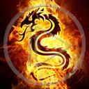 ogień smok znak symbol dragon płomień znaki smoki symbole