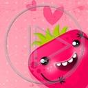 serce miłość owoce buzia owoc truskawka truskawki miłosne serca buzie