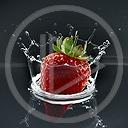 woda owoce owoc truskawka truskawki truskaweczka