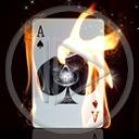 ogień gra znak symbol wzór karta wino karty płomień grać a s asy karta do gry
