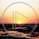 krajobraz morze widok przyroda natura zachód słońca romantyczny plener