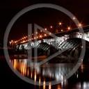 noc różne most rzeka mosty