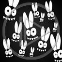 królik oczy uszy zając gały stworki stworek króliki zające