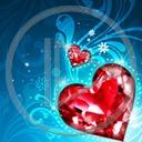 serce miłość serduszka miłosne kryształ serduszko serca kryształy