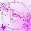 miłość usta wzór motyle wzory pocałunki
