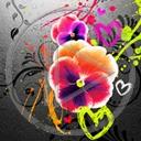 serce kwiat kwiaty kwiatek roślina bratek rośliny kwiatki serca bratki