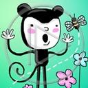 zwierzęta kwiaty kot kotek pszczoła koty pszczoły kotki zwierze śpiewa śpiewak