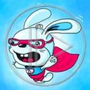 królik zwierzęta bohater króliki supermen zwierze