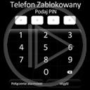 telefon liczby napis telefony blokada tekst telefon zablokowany numery podaj pin