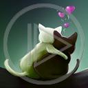 zwierzęta serce miłość kot para koty zakochani miłosne kotki serca