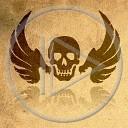 czaszka skrzydła śmierć koniec horror game over straszne czacha mroczne mroczna